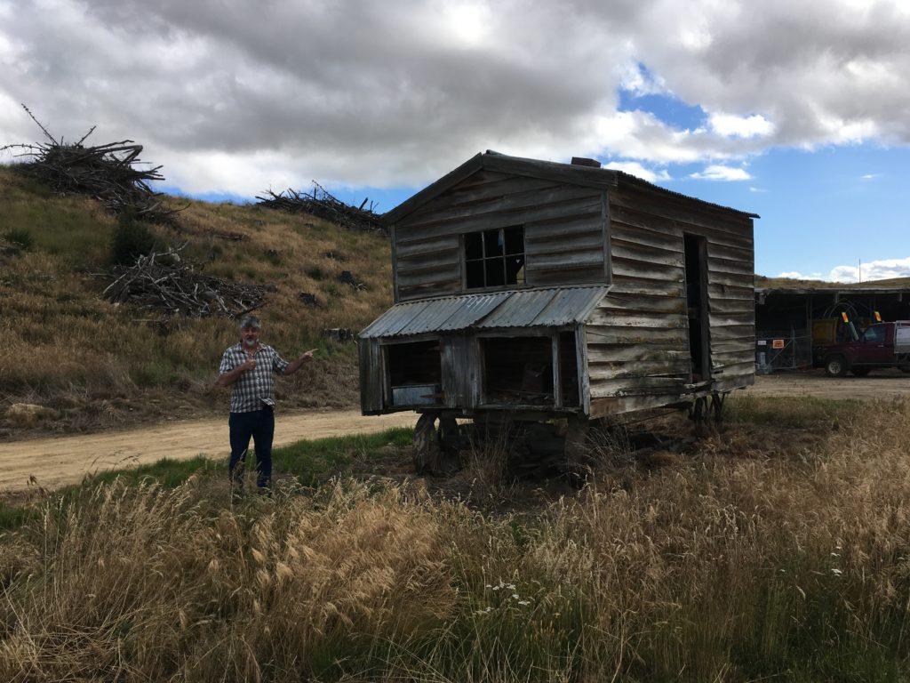 Historic goldminers caravan Maniototo